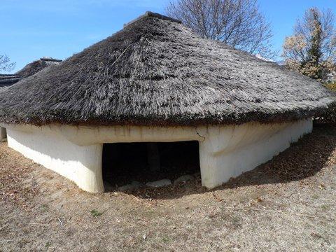 金生遺跡の住居