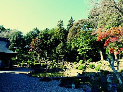 浄居寺の庭園