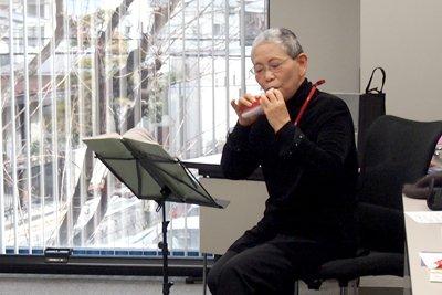 中嶋先生のミニコンサート