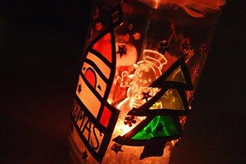 クリスマスライトホルダー