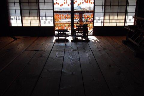 甘草屋敷 二階のころ柿2
