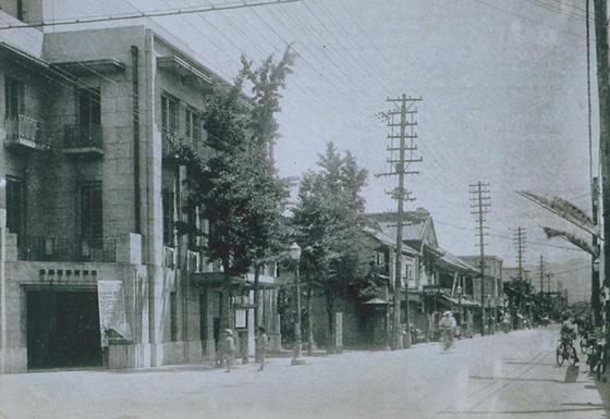 昭和初期の柳町通り