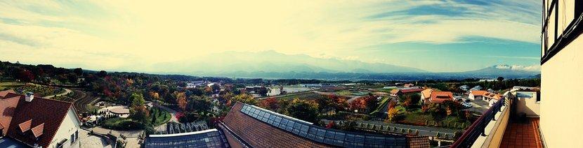ハイジの村 展望台から眺望