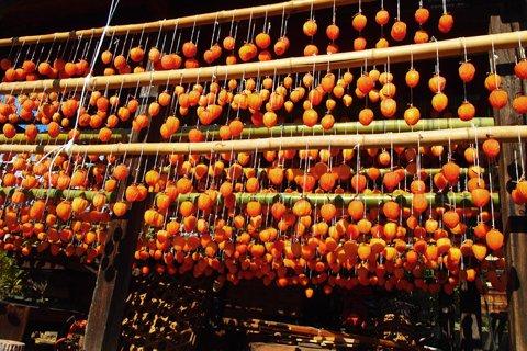 甘草屋敷のころ柿